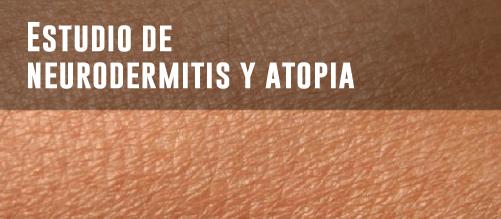 Estudios de microbiota intestinal - Neurodermitis y atopia